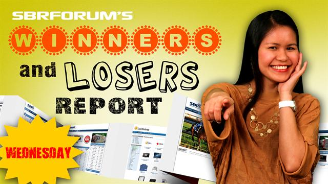 Winners and Loseres Report May 15th