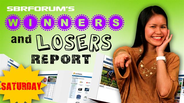 Winners and Losers Report May 18th