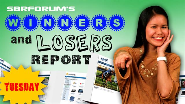 Winners and Losers Report June 18th