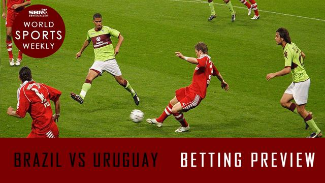 Free Pick: BRAZIL vs URUGUAY Semi-Final Match FIFA Confederations Cup Brazil 2013 | World Sports Weekly
