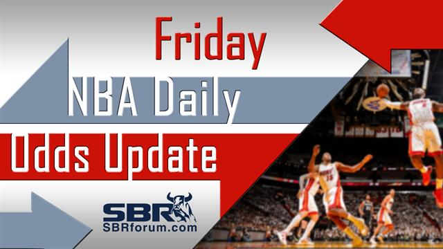 NBA Picks: Friday's NBA Odds Report