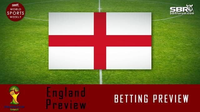 World Cup Betting: England Preview