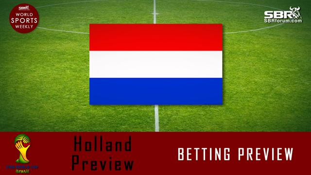 World Cup Betting: Holland Preview