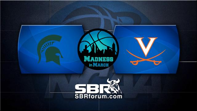 Sweet 16 Picks: Virginia Cavaliers vs Michigan St Spartans w/ Troy West, Peter Loshak
