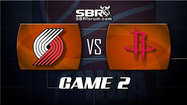 NBA Picks: Portland Trail Blazers vs. Houston Rockets Game 2