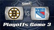 Bruins vs. Rangers: NHL Picks - Game 3