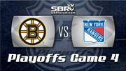 Boston Bruins vs New York Rangers Game 4 Preview: NHL Playoff Picks with Peter Loshak