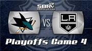Sharks vs. Kings Game, Preview for Game 4: NHL Picks