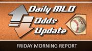 Friday's Opening Betting Lines & Odds: MLB Odds