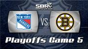 New York Rangers vs Boston Bruins Game 5 Preview: NHL Playoff Picks with Peter Loshak