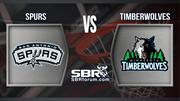 Spurs vs Timberwolves | NBA Temporada Regular | Apuestas Deportivas en Basketball