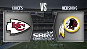 Chiefs vs Redskins - Semana 14 NFL Temporada Regular - Apuestas Deportivas en Football Americano