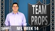 NFL Picks: Week 14 Team Prop Bets