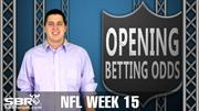NFL Picks: Week 15 Opening Odds Report