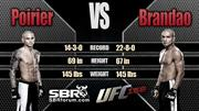 Dustin Poirier vs Diego Brandao Preview | UFC 168 Picks