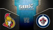 NHL Picks: Ottawa Senators vs. Winnipeg Jets