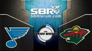 NHL Picks: St. Louis Blues vs. Minnesota Wild