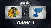 NHL Playoffs Picks - Chicago Blackhawks vs St Louis Blues Game 1 Preview
