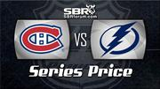 NHL Playoffs Series Odds Preview - Montreal Canadiens vs Tampa Bay Lightning