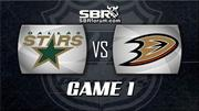 NHL Playoffs Picks - Dallas Stars vs Anaheim Ducks Game 1