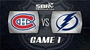 NHL Playoffs Picks - Montreal Canadiens vs Tampa Bay Lightning Game 1