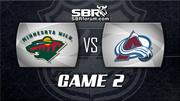 NHL Picks: Minnesota Wild vs. Colorado Avalanche Game 2