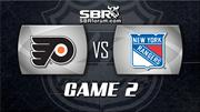 NHL Picks: Philadelphia Flyers vs. NY Rangers Game 2