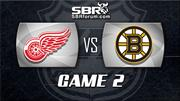 NHL Picks: Bruins vs. Red Wings Game 2