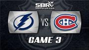 NHL Picks: Lightning vs. Canadiens Game 3