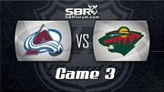 NHL Picks: Colorado Avalanche vs. Minnesota Wild Game 3