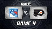 NHL Picks: New York Rangers vs. Philadelphia Flyers Game 4